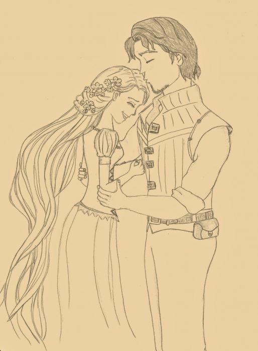Rapunzel by joannna